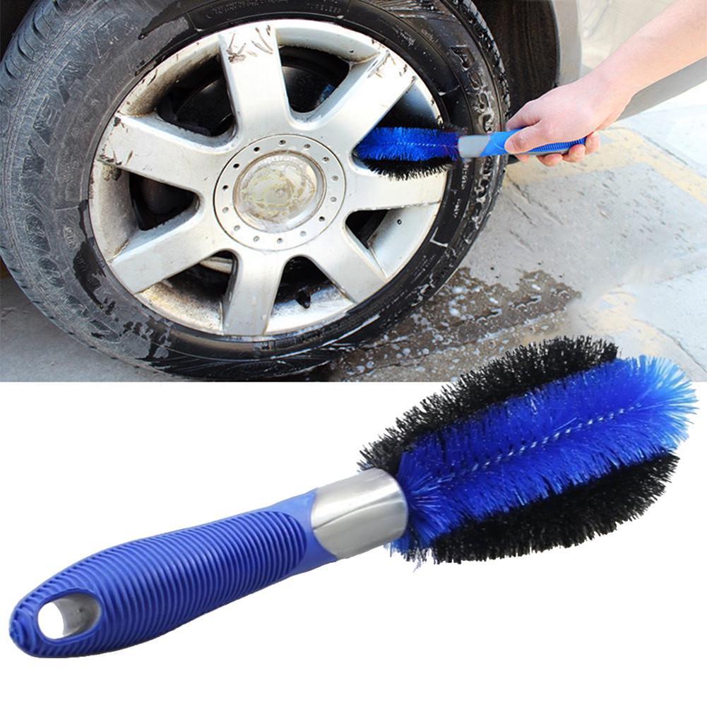 Car Motorcycle Wheel Tire Rim Scrub Brush Washing Cleaner Vehicle Cleaning Tool