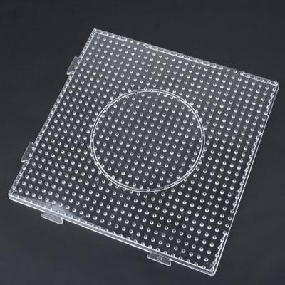 Hama Fuse Beads Clear 3D Design Board Random Large Pegboards for Perler Bead