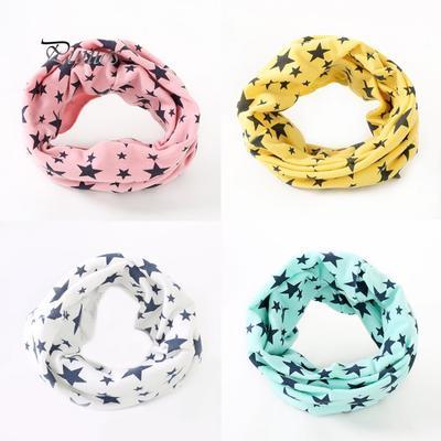 Cute Dog Animal Spring Printing Scarf Warm Soft Fashion Scarf Shawl Kids Boys Girls