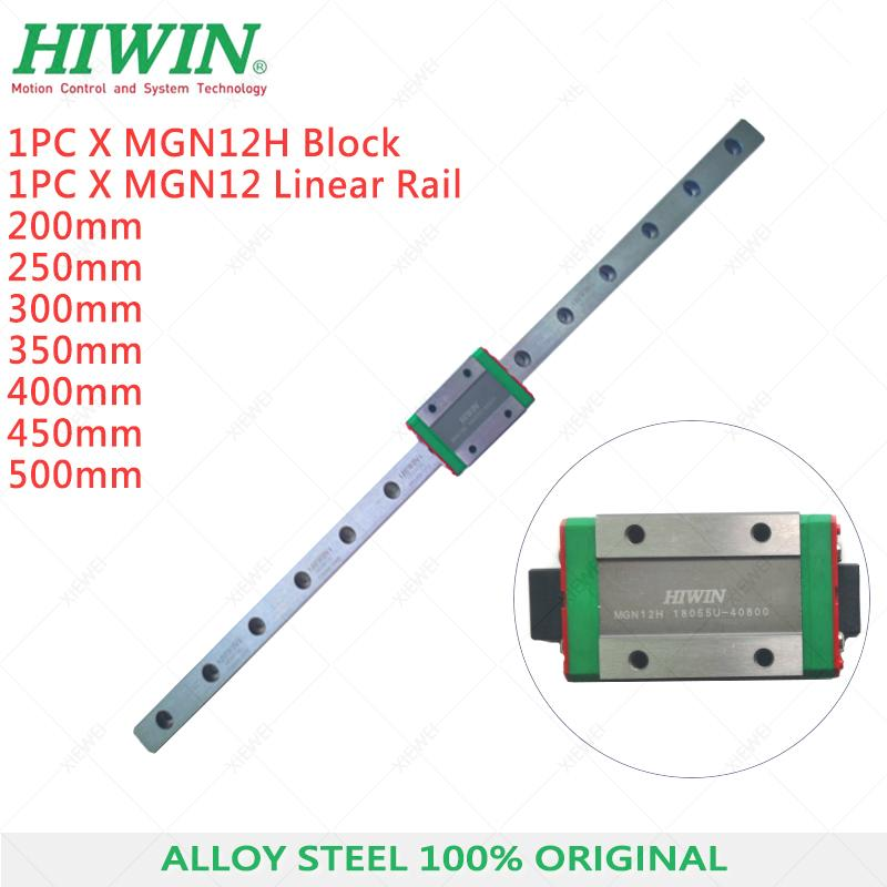 3 Pcs Hiwin MGN12CH Linear Bearing Block for sale online