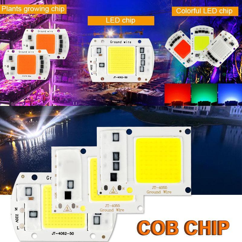 LED Chip COB Lamp Bead 10W 20W 30W 50W 100W 150W 200W Plant grow flood light DIY