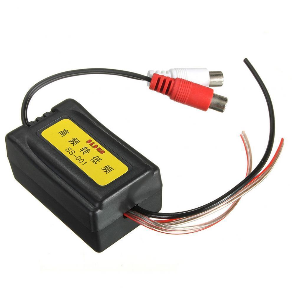 Hohen zu niedrigen Level Auto Lautsprecher RCA Konverter mit ...
