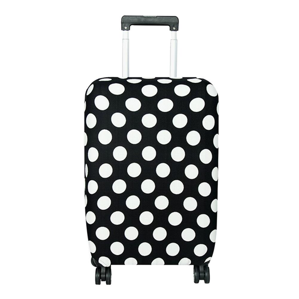 3D Charming Rose Print Luggage Protector Travel Luggage Cover Trolley Case Protective Cover Fits 18-32 Inch