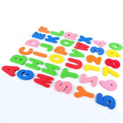 36pcs//Set Baby Kids Children Foam Letters Numbers Bathroom Bath tub Toy
