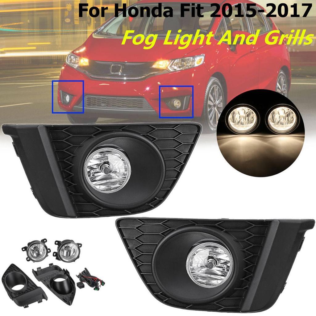 RH Front Bumper fog lamp light Cover case For Honda civic sedan 2016-2017