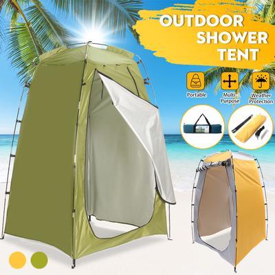 Outdoor Folding Pop Up Tent 120cm x 120cm x 195cm Portable Waterproof Sun Shelters Camping for Beach Picnic xiangpian183 Camping Toilet Tent