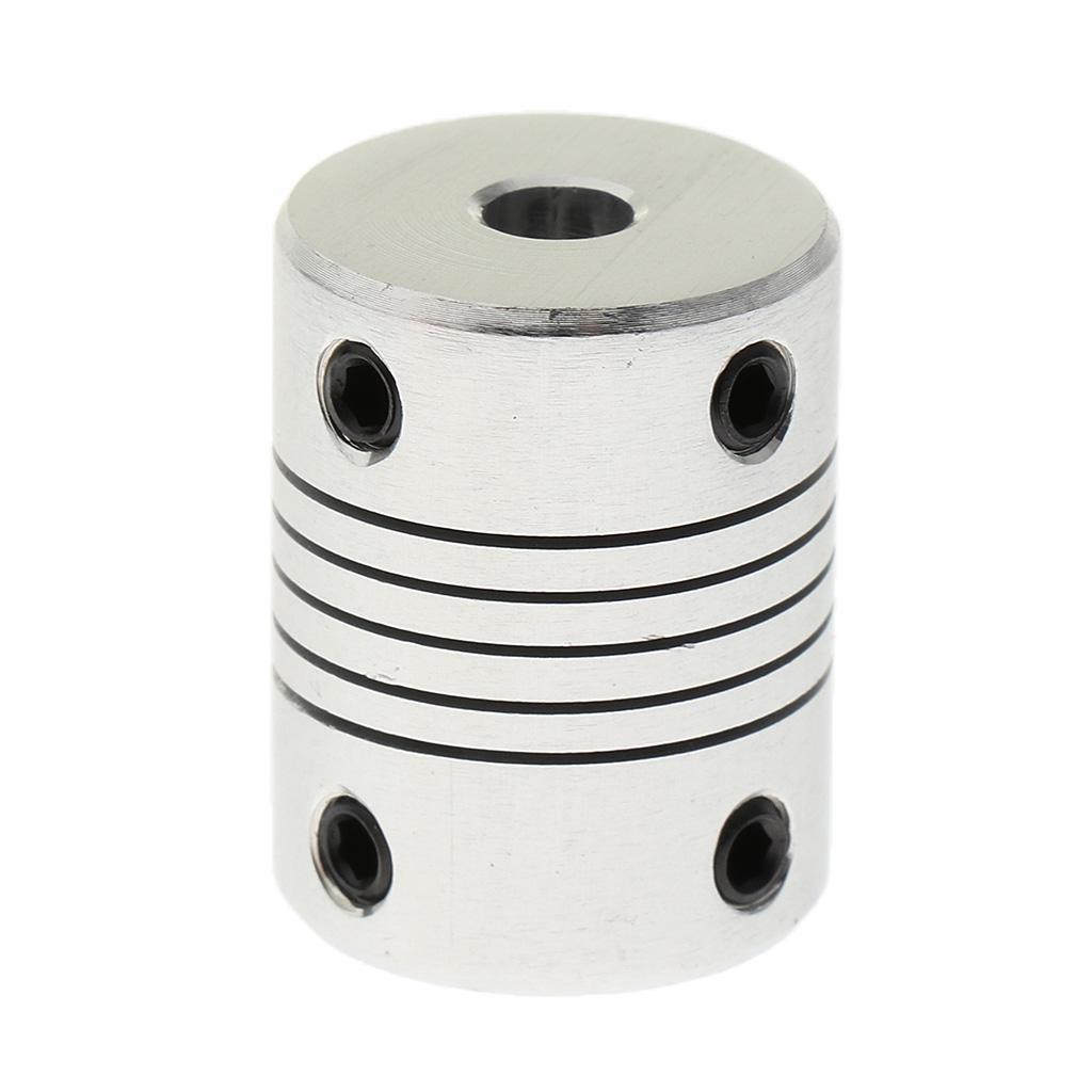5mm to 8mm Reprap 5x8mm Motor Shaft Coupler ideal for 3D printer shafts CNC