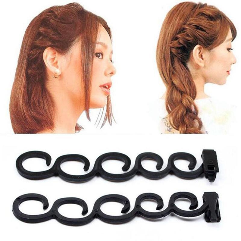 Модный стиль, плетение инструмент ткать формы волос крюк Hairwear Аксессуары для женщин фото