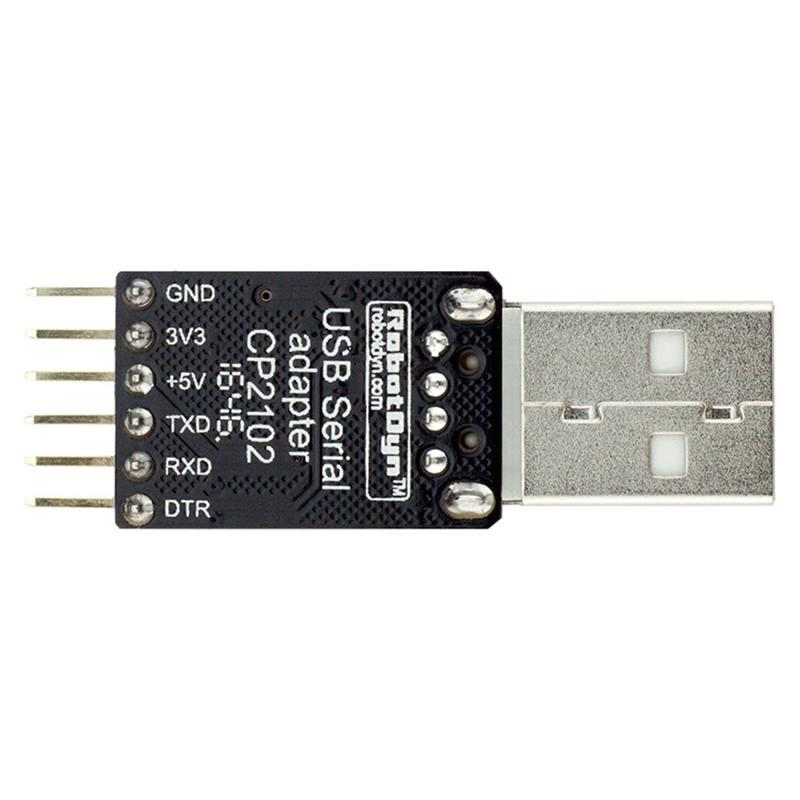 5V//3.3V digital I//O USB-A RobotDyn USB-Serial adapter//microcontroller CP2104