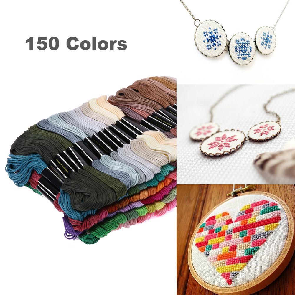 20//50x Thread Bobbins Cross Floss Craft Holders Organiser Stitch Embroidery Set.
