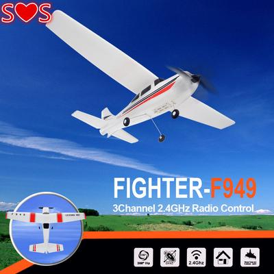 WLtoys F949 3CH 2 4G RC Airplane RTF Glider EPP Composite Material 14+