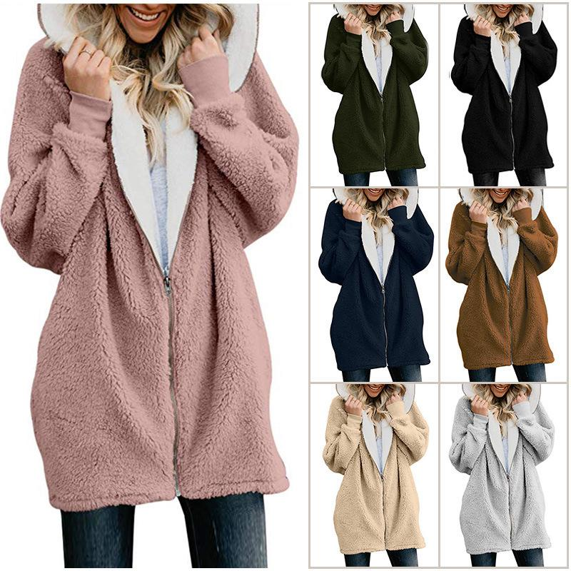 Fllay Men Hooded Long Sleeve Casual Solid Color Open Front Irregular Pockets Cardigan