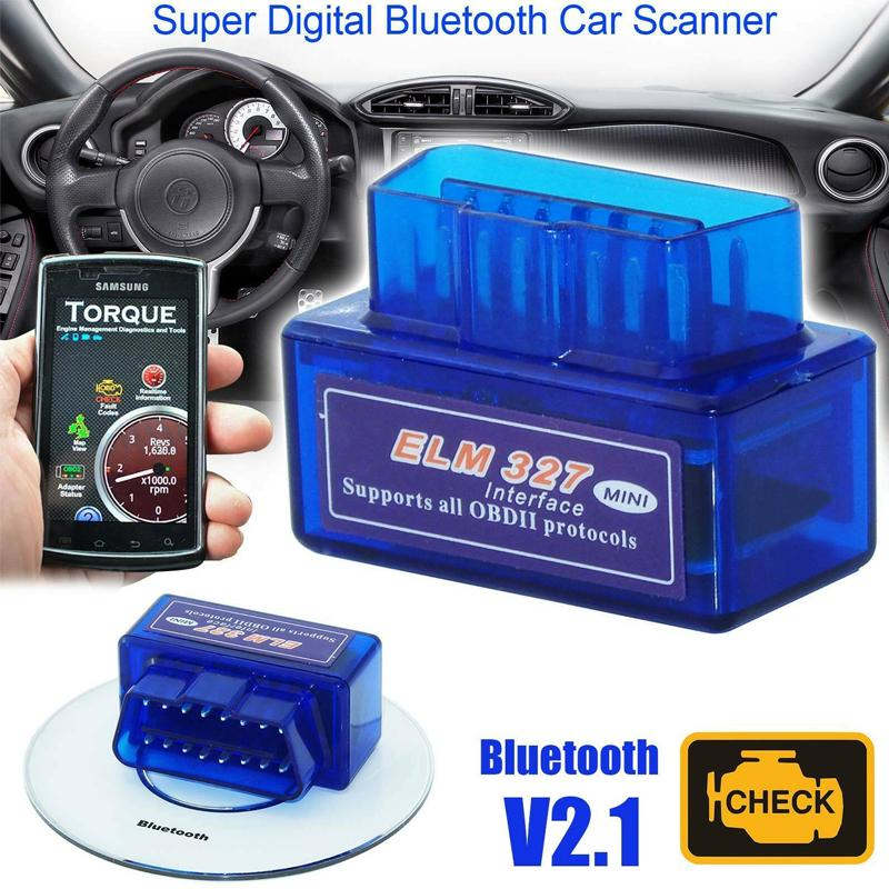 1pc Scanner Adapter Obdii Torque Android Diagnostic Tool Elm327 Obd2 Bluetooth Buy At A Low Prices On Joom E Commerce Platform