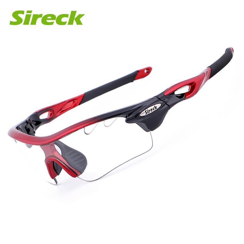f613262958 Sireck polarizadas fotosensibles ciclismo equitación deportes al aire libre  bicicleta 2 lentes gafas gafas MTB - comprar a precios bajos en la tienda  en ...