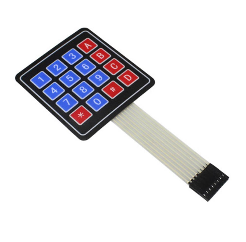 5PCS 4 x 4 Matrix Array 16 Key Membrane Switch Keypad Keyboard Arduino//AVR//PI​C