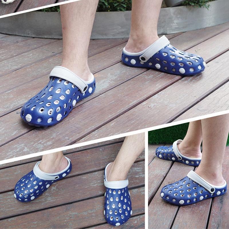 86ef2507d4cc Men Clog Summer Croc Beach Shoes Hollow Out Sandals Hole Breathable MOC-buy  at a low prices on Joom e-commerce platform