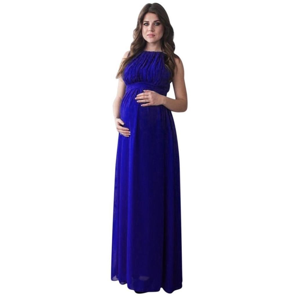 Hermosa Más El Vestido De La Dama De Honor Del Tamaño De Maternidad ...