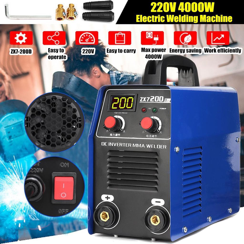 Electric ARC Welding Welder Inverter Machine Tools 4000W Handheld Mini MMA Kit
