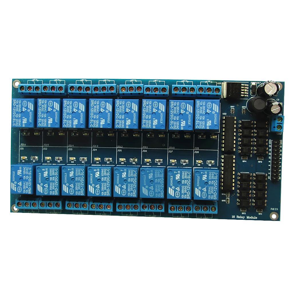 4 Canali 12V Relè Modulo per Arduino PIC ARM AVR DSP