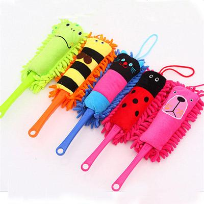 ZZH Polyester Cloth Small Window Air Conditioner Brush Duster Cleaning Brush Vent for Car Air Vent Multi-Function