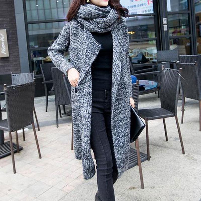 UK Womens Maxi Cardigan Duster Leopard Print Long Sleeve Trench Coat Plus Size