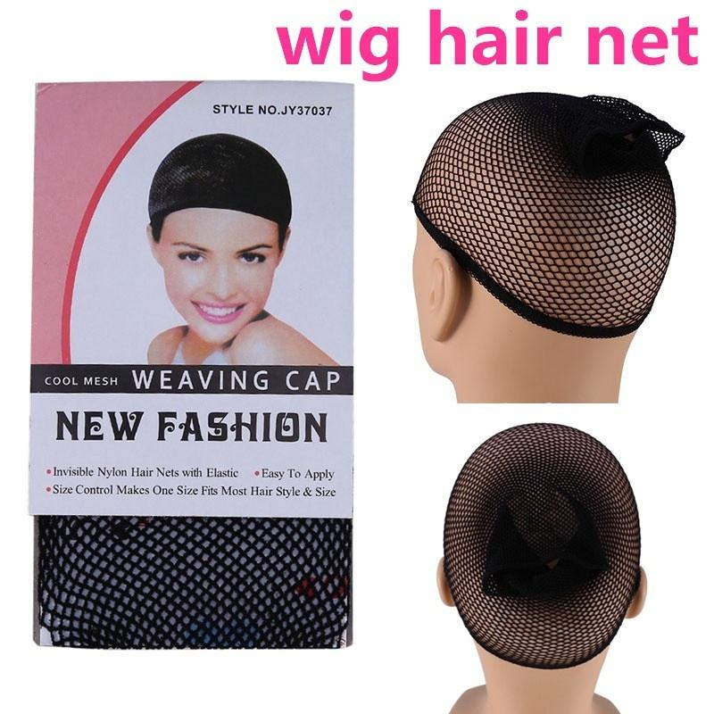 Wig Cap Mens Ladies Mesh Hair Holder For Wigs Fancy Dress Accessory Natural