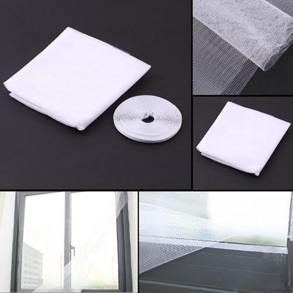 Mosquito Net Window Mesh Screen Room Anti Protector Insect Fly Bug Wasp Curtain