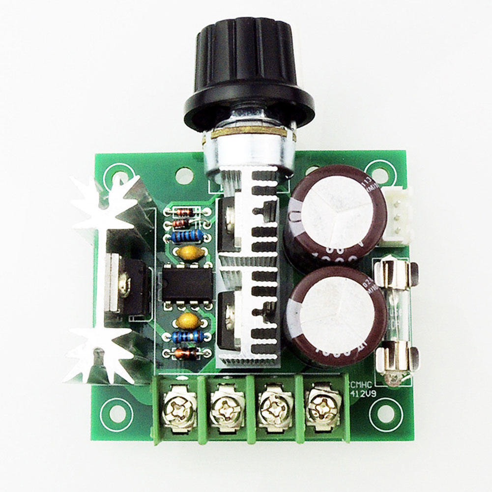12v To 40v 10a Pwm Dc Motor Speed Control Switch Volt Regulator Controller With Adjustable Delay Timer Electronic 1 Of 4