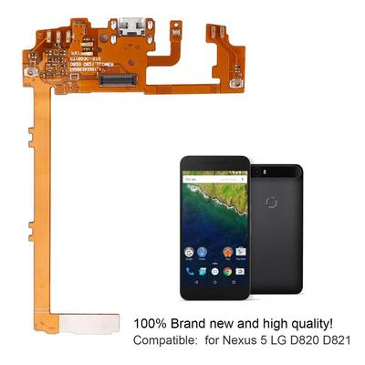 Charging USB Port Dock Connector Mic Flex Cable for Nexus 5 LG D820 D821
