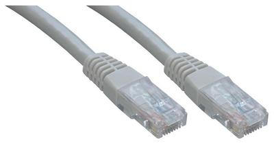 Grey MCL 10m Cat 5E U//UTP Eco Patch Cable
