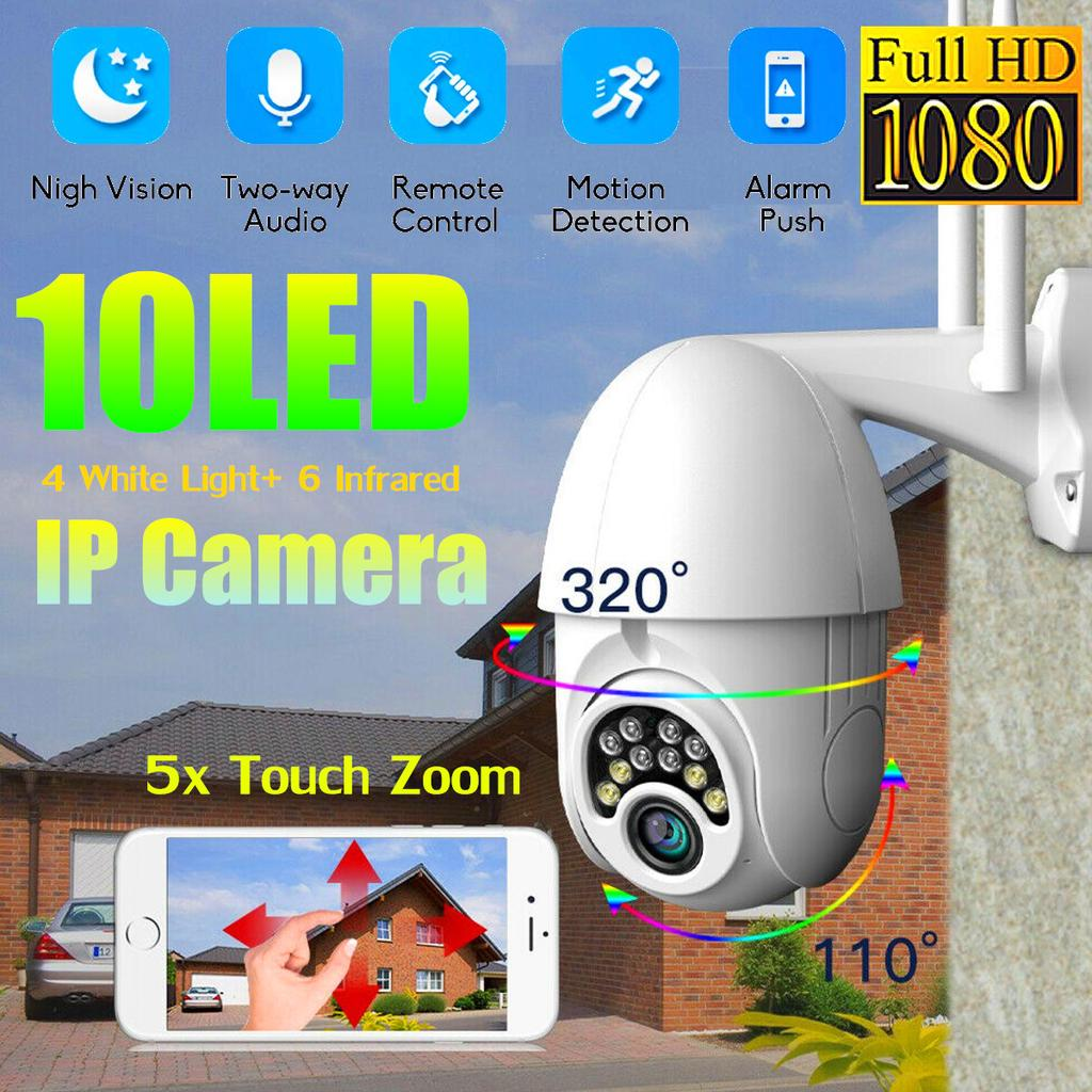 1080p Hd Ptz Ip Camera Wifi Outdoor Speed Dome Wireless Wifi Security Camera Pan Tilt 4x Digital Zoom 2mp Network Cctv Surveillance Buy At A Low Prices On Joom E Commerce Platform