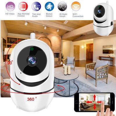 Podofo 360° WI-FI Camera Wireless Camera HD 720P IP Camera Home Security Camera Two Way Audio Night Vision CCTV Camera