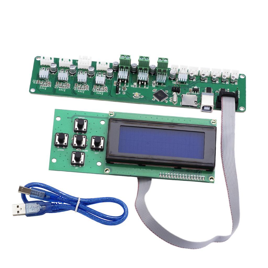 3D Printer Control Board Melzi 2.0 Motherboard+2004 LCD Smart Display Screen