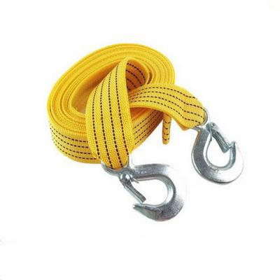 4m Heavy-Duty Emergency Steel Tow Rope Towing Car Recovery Hook 3 Tonne