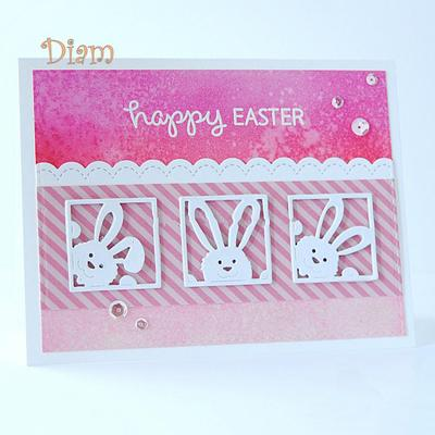 Rabbit Metal Cutting Dies Stencil DIY Scrapbooking Album Paper Card Embossing