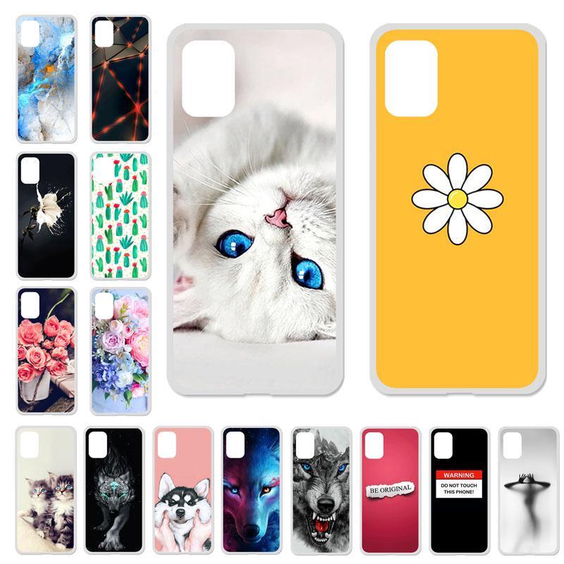 Телефон Случаи для Samsung Галактика A51 SM-A515F/DS SM-A515FN SM-A515GN A515YN Обложка Силиконовая Чесяк Симпатичный Окрашенный Телефон Мешок Протектор