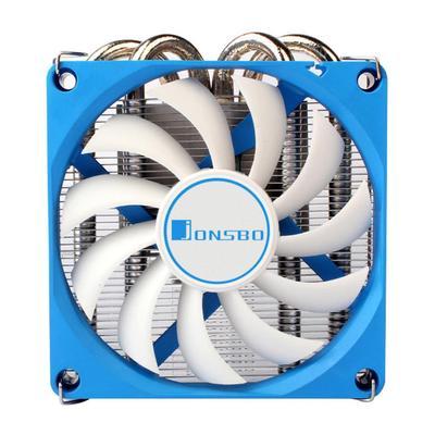 Computer CPU Fan Fin Cooling Heatsink Air Cooler Radiator Heat Dissipation Kit DC 12V 3Pin Power Connector Aluminum