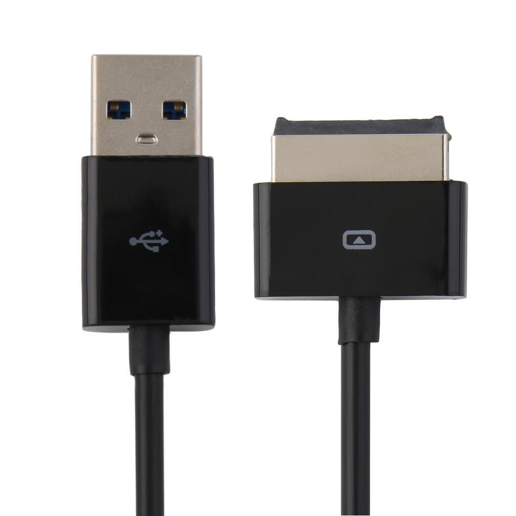 Black yf Smartphone Data line 1m USB 3.0 Data Sync Charger Cable for Asus Eee Pad Transformer Prime TF502 // TF600T // TF701T // TF701F // TF810