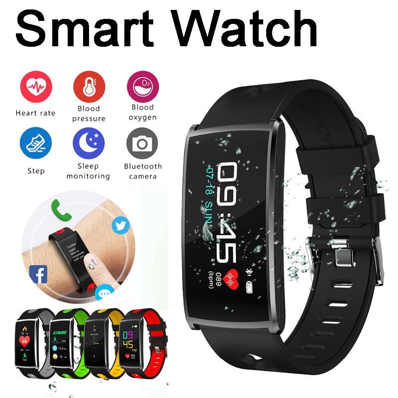 a0162563045f Reloj inteligente n68 vistoso pulsera inteligente oled monitor de sueño de  frecuencia cardíaca banda cámara remota pulsera a prueba de agua