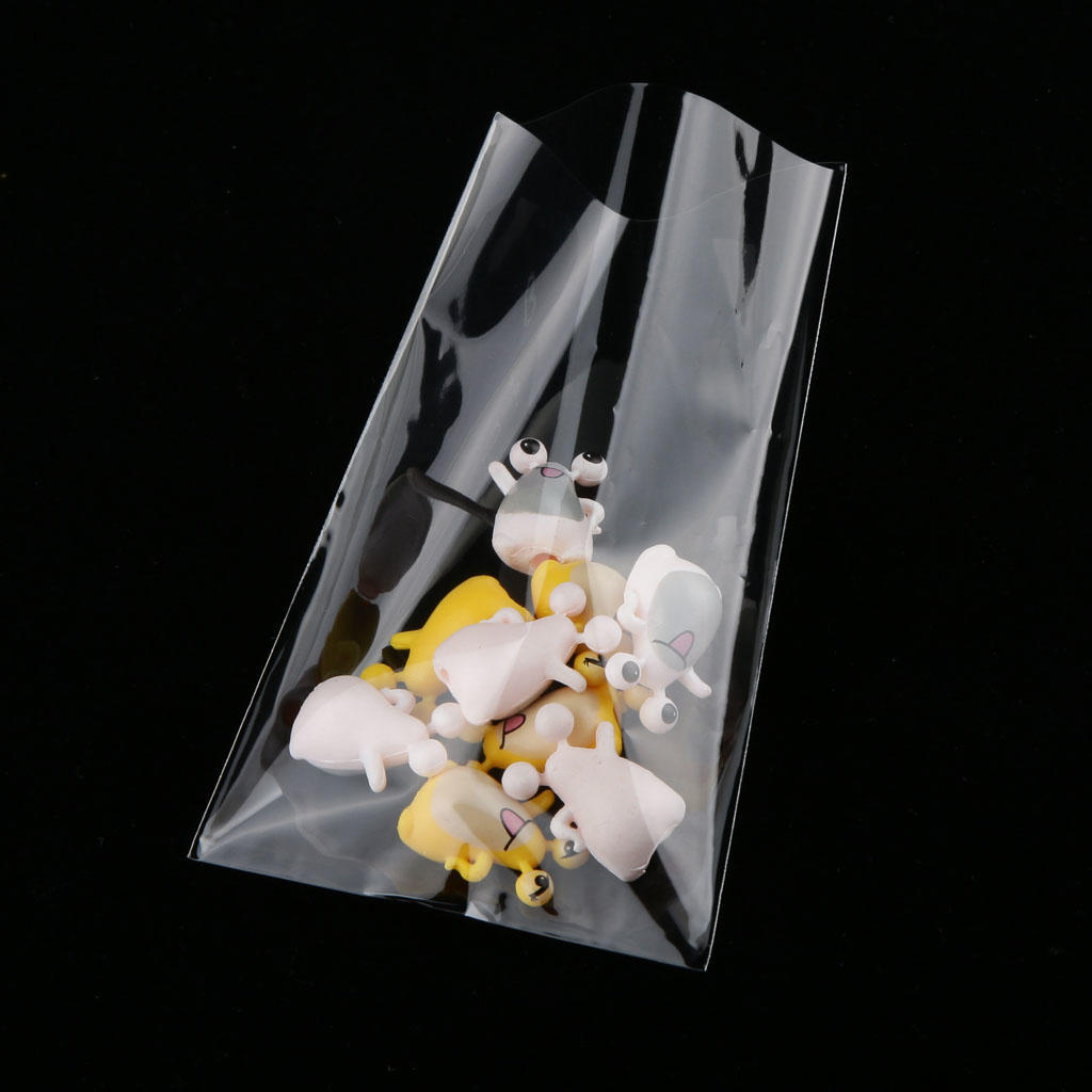 CLEAR CELLOPHANE CELLO DISPLAY PARTY BAGS FOR LOLLIPOPS SWEETS *TOP QUALITY*