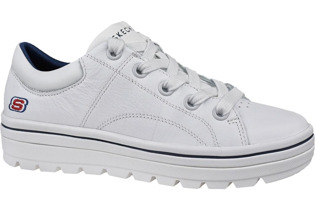 Skechers Street Cleats 2 Spangled 73998 WNV, Womens, Sneakers, White