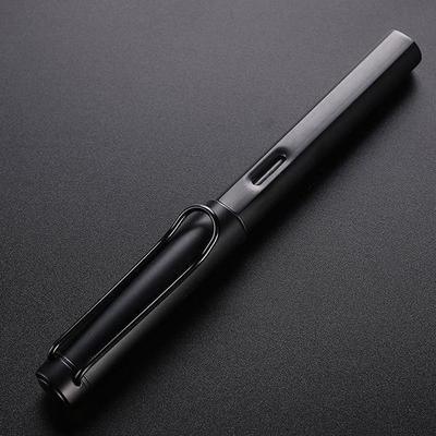 NEW Luxury Aluminum Alloy WING SUNG 6359 Fountain Pen Extra Fine Nib 0.38mm Top