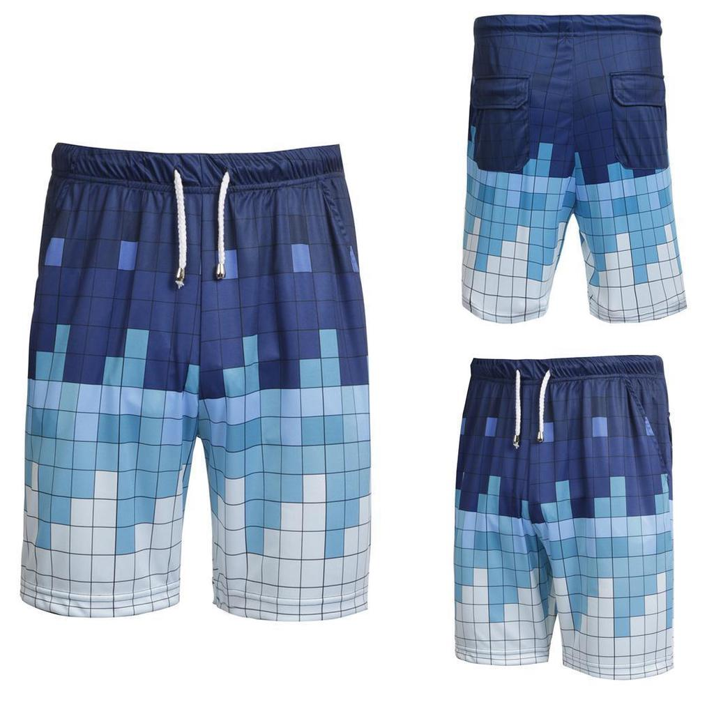 Mens Flag of Panama Casual Quick Dry Swim Trunks Elastic Drawstring Surfing Shorts with Pocket