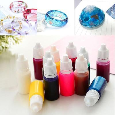 10ml High Concentration UV Resin Liquid Coloring Dye Pigment Epoxy ...