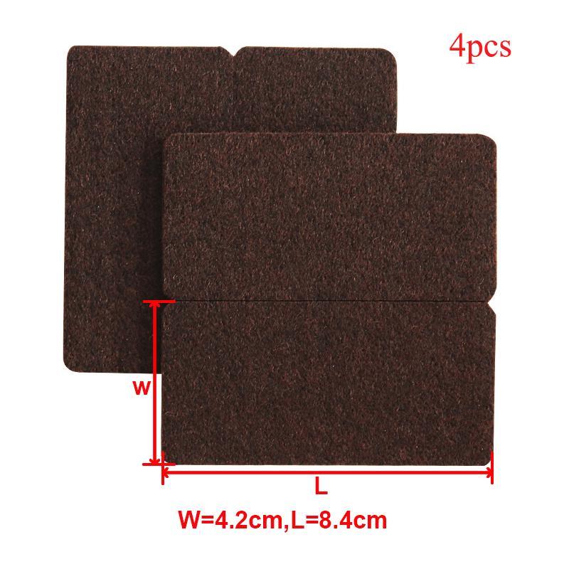 Self Adhesive Furniture Leg Feet Pad Anti Slip Mat Damper For Chair Table Nett
