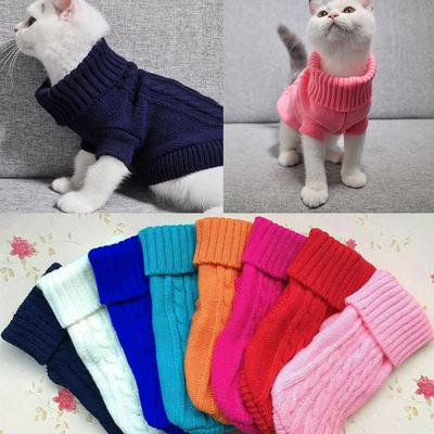 Winter Dog Clothes Puppy Pet Cat Sweater Jacket Coat For Small Dogs