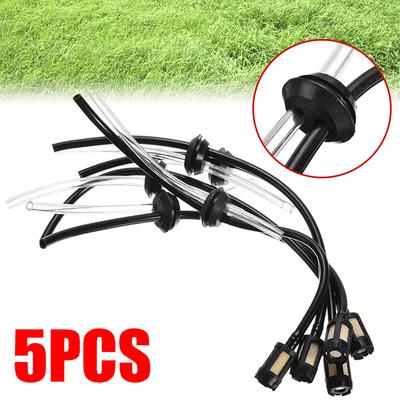 5Pcs Motor Hose Pipe Kit Fuel Filter For 4 Stroke Trimmer Brushcutter Lawnmower