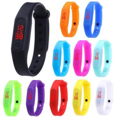 2N-Nice LED Display Digital Adjustable Strap Electronic Wrist Watch