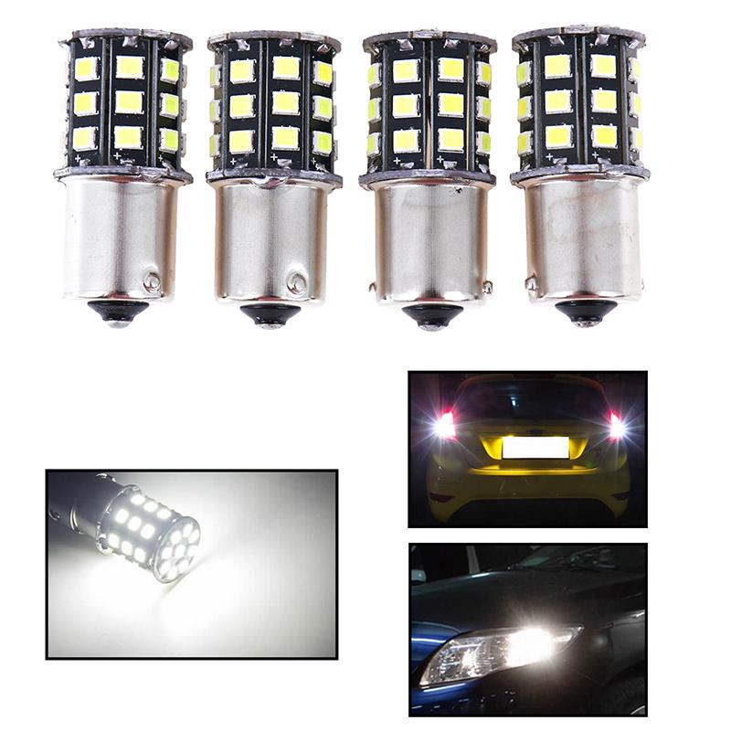 1156 White daytime running lights DRL 36-SMD LED bulb decoding without error 2pc