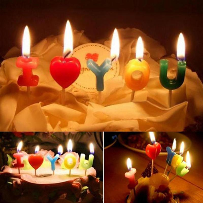 Birthday candle anniversary candles
